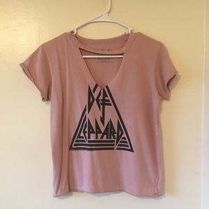 Def Leppard | Cut-Out Top